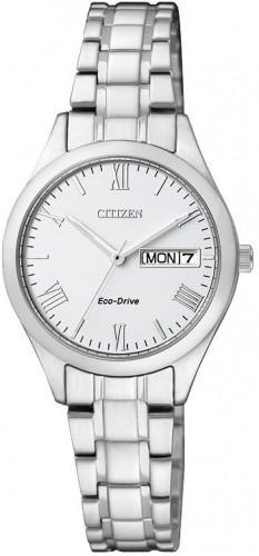 นาฬิกาข้อมือผู้หญิง Citizen Eco-Drive รุ่น EW3191-51A, Sapphire Japan