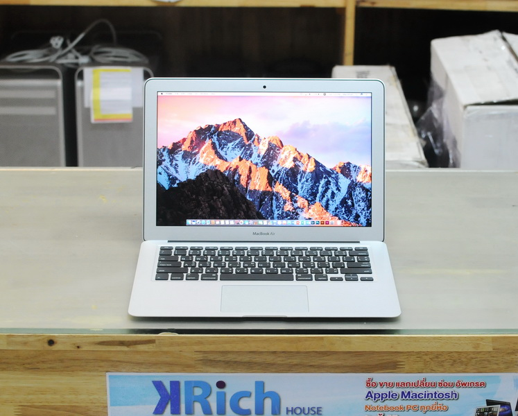 MacBook Air 13-inch Early2015 Intel Core i5 1.6GHz RAM 8GB SSD 128GB Apple Warranty 09-08-17
