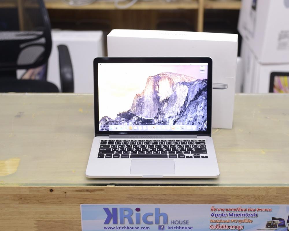 MacBook Pro Retina 13-inch Early2015 Core i5 2.7GHz RAM 8GB SSD 256GB FullBox