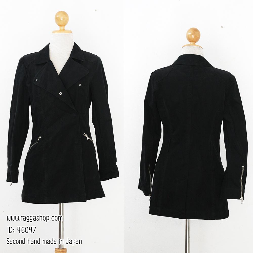 46097 อก36 เอว30 โค้ชสีดำ(id 6125 จองคะ)