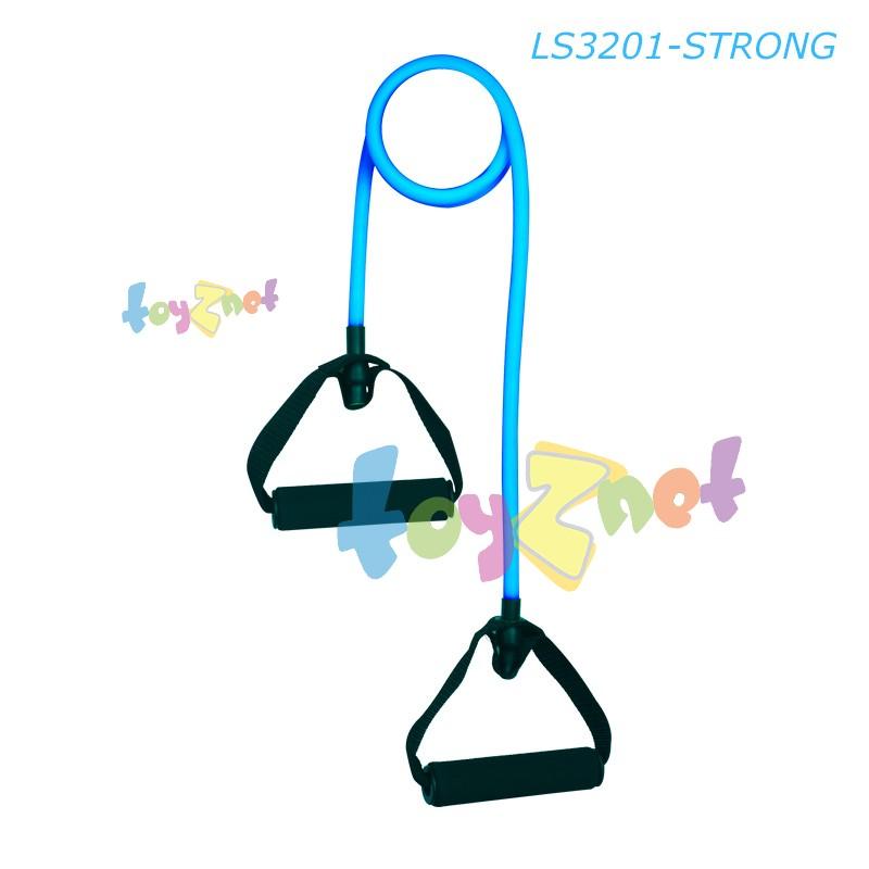 Liveup เชือกยางยืดออกกำลังกาย ระดับหนัก (สีฟ้า) รุ่น LS3201-H