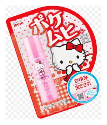 Muhi Kitty ยาแก้คันมูฮิ รุ่นคิตตี้ ยาทาสำหรับแก้ยุงกัด แก้คัน สำหรับเด็ก 6 เดือนขึ้นไป