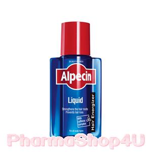 Alpecin Caffeine Liquid 200 mL คาเฟอีนเหลว ปรับสภาพผมให้ดีขึ้น ลดการหลุดร่วงของเส้นผม