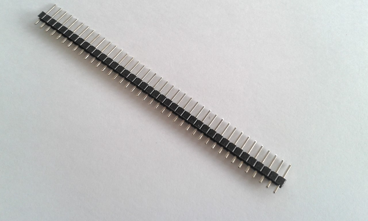 40 Pin 2.54 Male Pin Header connector