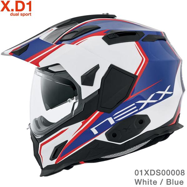 Nexx X.D1 Voyager White-Blue