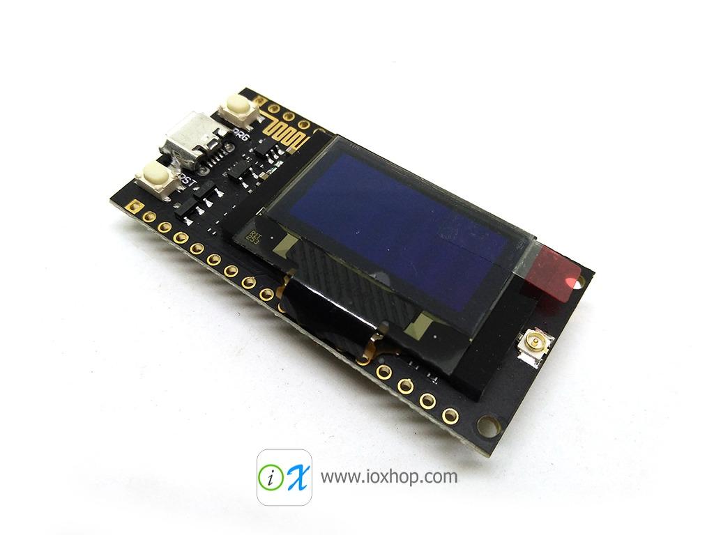 ESP32 + LORA + OLED on one board