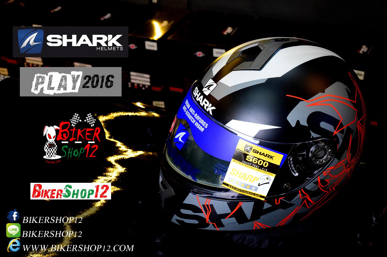 หมวกกันน็อคShark S600 Play KAS