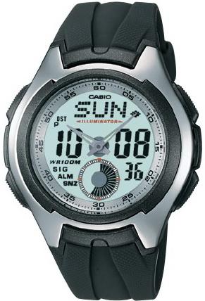 นาฬิกา คาสิโอ Casio STANDARD ANALOG-DIGITAL รุ่น AQ-160W-7B