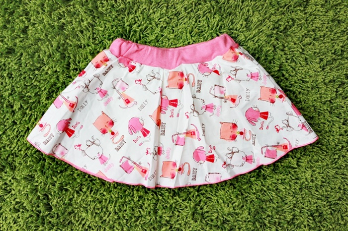 กระโปรงกางเกงเด็กหญิง (12,18,24 เดือน)