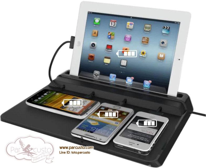 แท่นชาร์จ Smartphone, Tablet รุ่น U2 จาก Kinderl [Pre-order]
