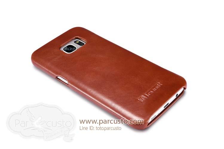 เคสหนังแท้ Samsung Galaxy S7 Edge จาก icarer [Pre-order]