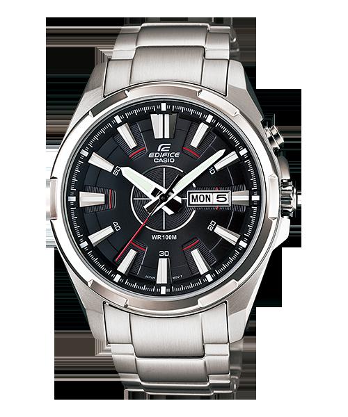 นาฬิกา คาสิโอ Casio EDIFICE 3-HAND ANALOG รุ่น EFR-102D-1AV