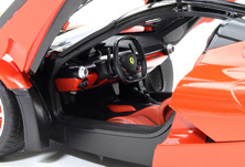 Tamiya's designers worked hard to ensure that the interior of the model matches that of the original.