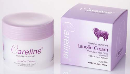 Careline Lanolin Cream 100ml.