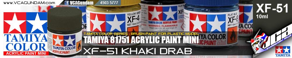 Tamiya 81751 ACRYLIC XF-51 KHAKI DRAB