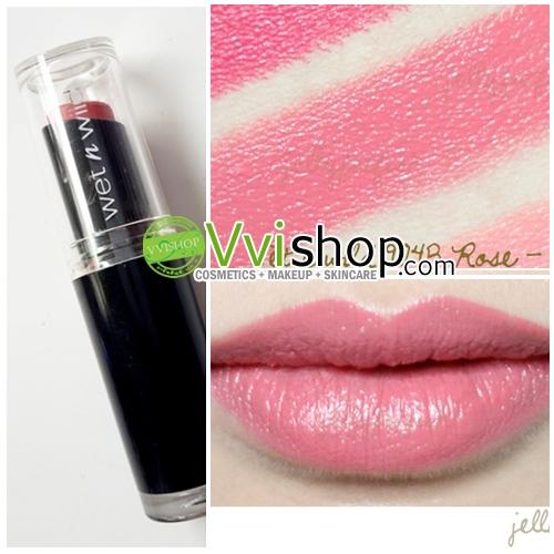 Wet n Wild Mega Last Lip Color 3.3 g # 904B Rose Bud สีชมพูกุหลาบ ลิป คุณภาพดีเกินราคา