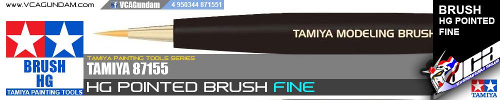 TAMIYA HG POINTED BRUSH (FINE)
