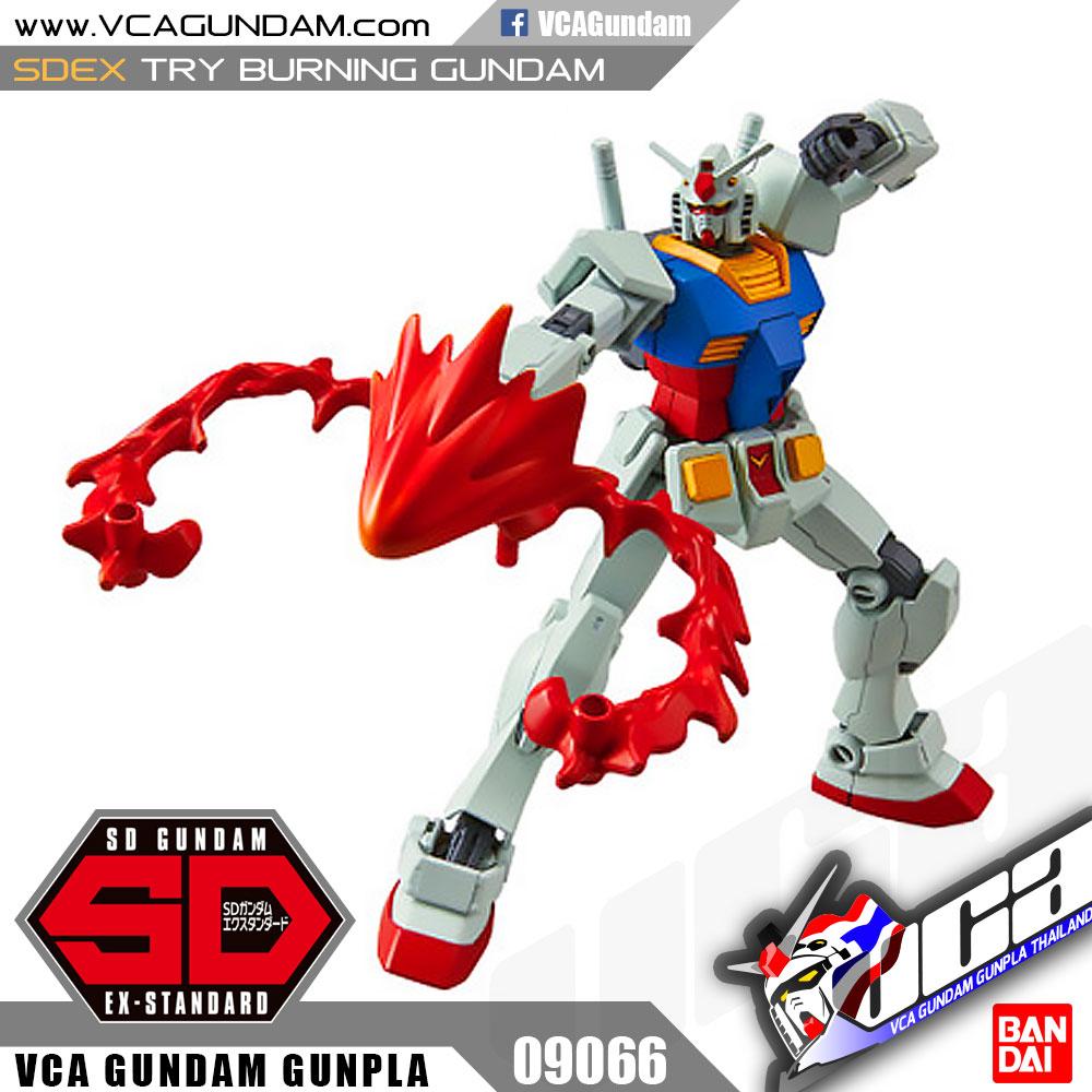 Bandai Sdex Try Burning Gundam Vca Inspired By Lnwshopcom