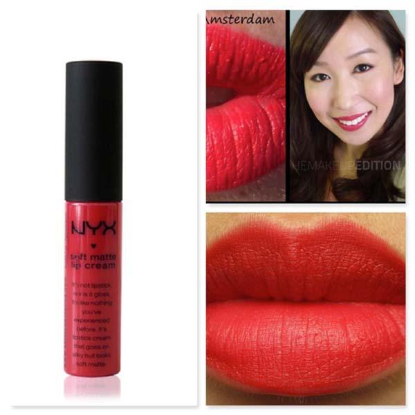 Nyx Soft Matte Lip Cream #SMLC01 Amsterdam