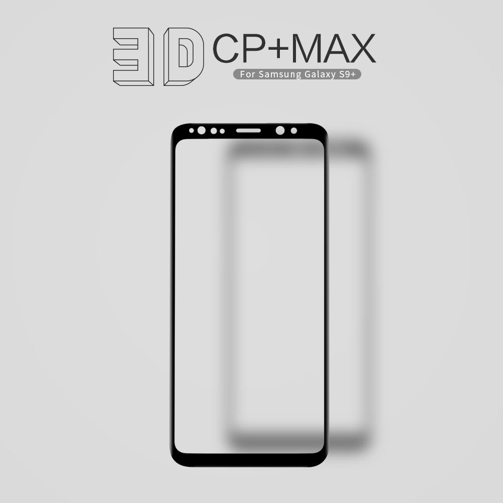 กระจกนิรภัย NILLKIN 3D CP+ MAX Galaxy S9+ / S9 Plus สีดำ