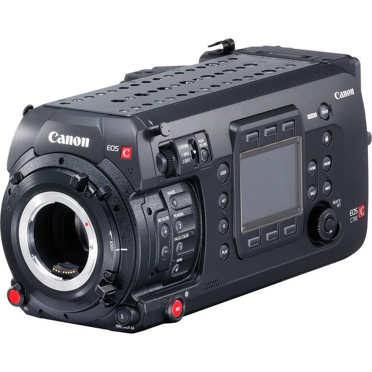 Canon EOS C700 Cinema Camera ตัวใหม่ เปิดตัวล่าสุด