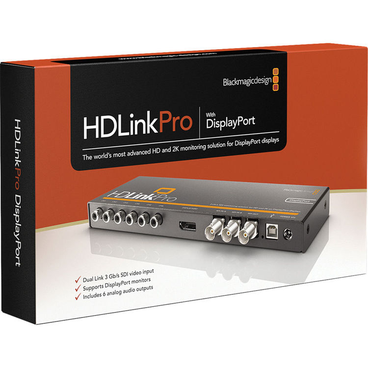 Blackmagic Design HDLink Pro 3D DisplayPort