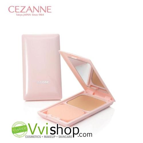 Cezanne Ultra Cover UV Foundation II SPF35 PA+++ Matte (Smooth) 11g พร้อมตลับ # 2 Light Ochre ผิวขาวเหลือง-ผิวขาวกลางๆ แป้งเน้นปกปิด คุมมัน
