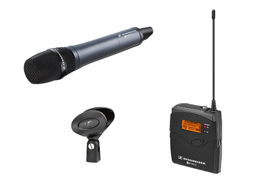 Sennheiser ew135-p G3 - G Handheld transmitter with ME865 condenser supercardioid capsule and rack mountable receiver
