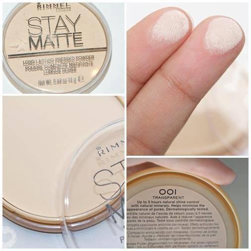 Rimmel Stay Matte Pressed Powder 14 g. # Transparent