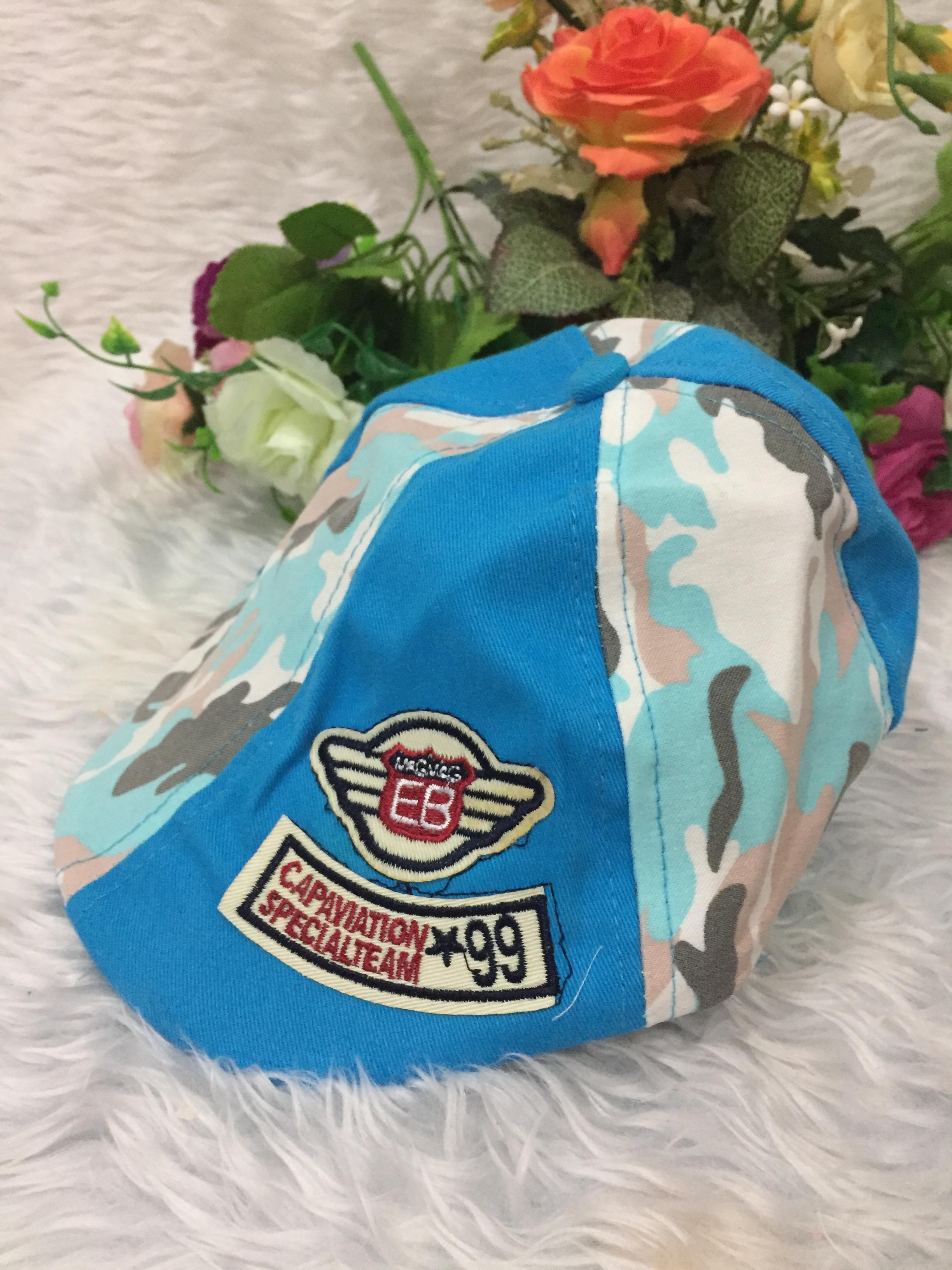 หมวกทรงเบสบอล-ลายทหาร
