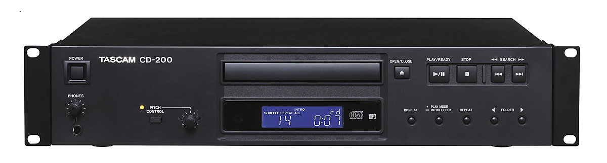 TASCAM CD-200 Rack Mount CD Player