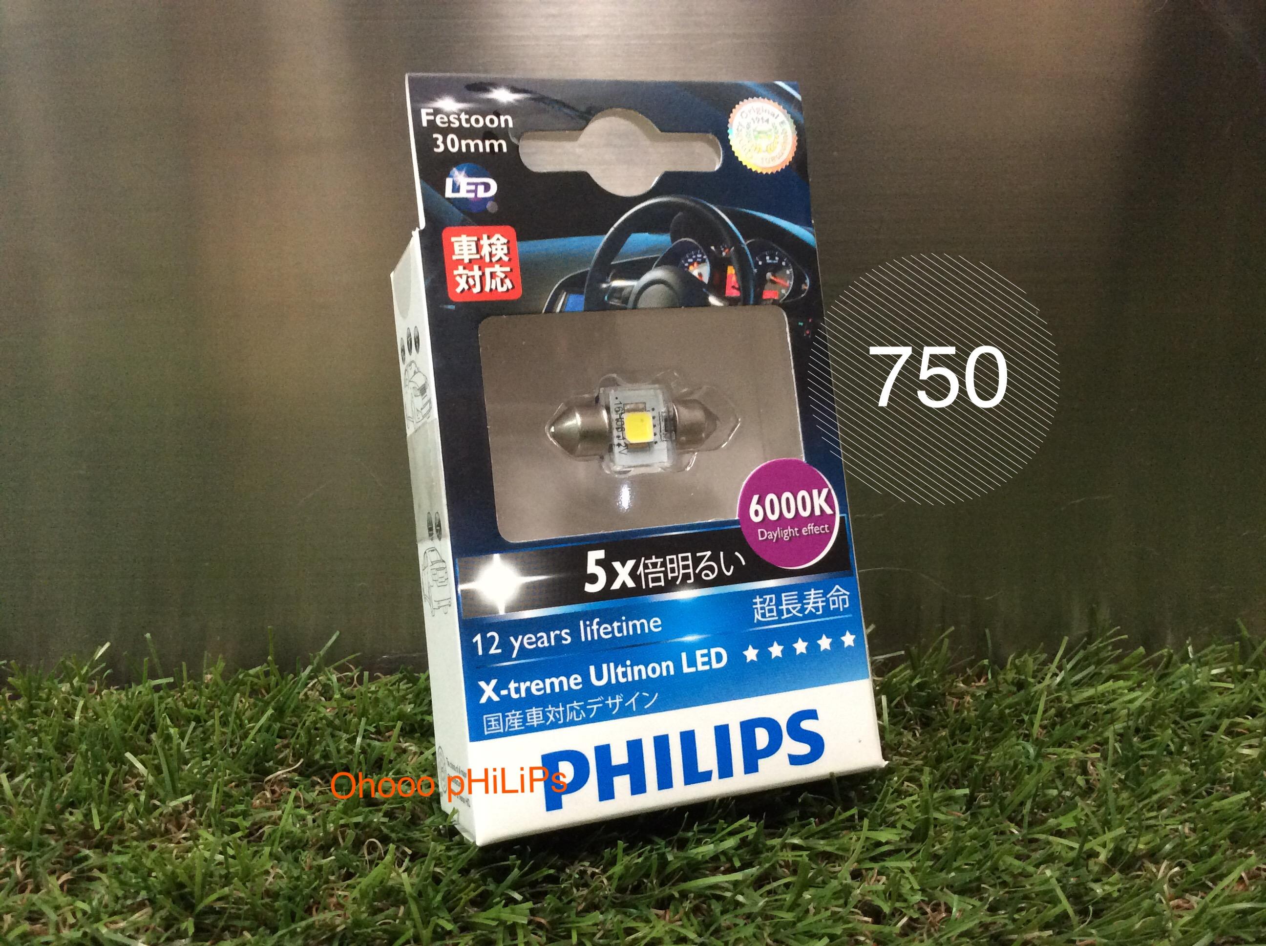 Philips LED Festoon 30mm 6000K
