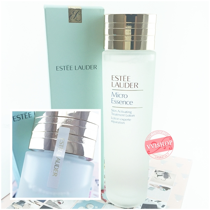 Estee Lauder Micro Essence Skin Activating Treatment Lotion 150 ml. เอสเซนส์ในรูปโลชั่น ปลุกผิวให้ดูเปล่งประกาย สว่างใส แลดูอ่อนเยาว์ * ลด 35% *