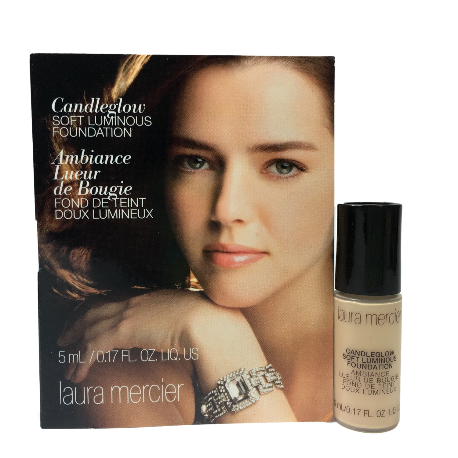 Laura Mercier Candleglow Soft Luminous Foundation 5ml. #Vanilee สำหรับผิวขาวเหลือง