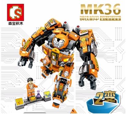 เลโก้จีน SY MK 36