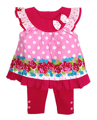 **Winnie's** SM1796 Size 3//6, 6/9, 9/12m เสื้อผ้าเด็กขายส่ง ยกแพค 6 ชุด ครบไซส์