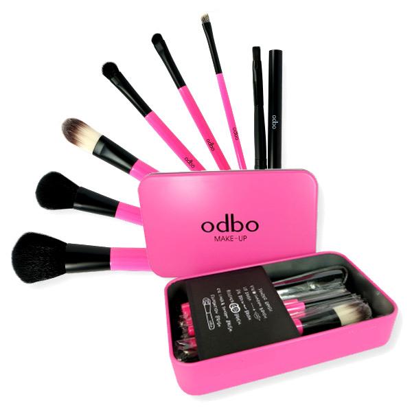 odbo Make Up Brush Set 7 pcs