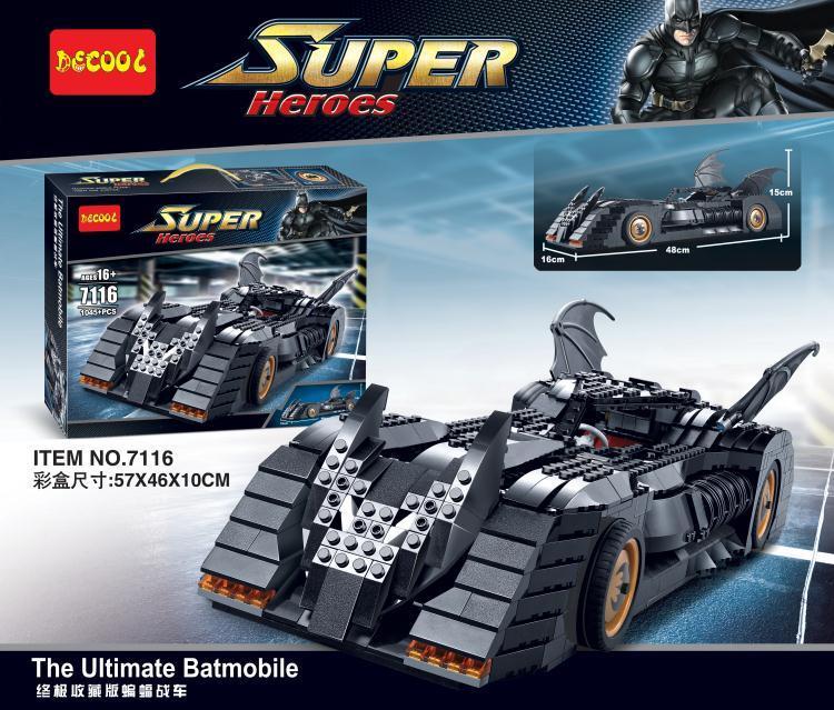 เลโก้จีน Decool 7116 ชุด Lego Batman The Ultimate Batmobile