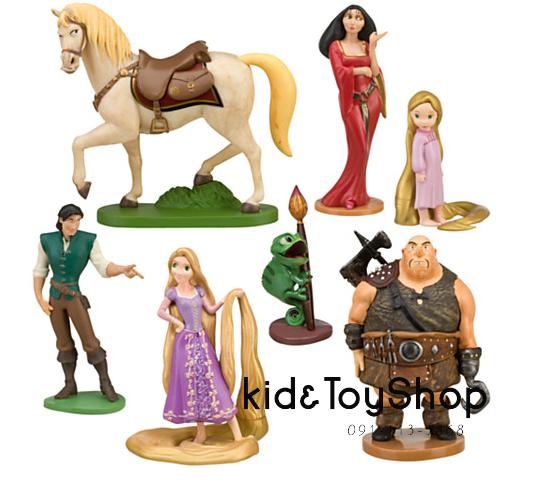 ชุดฟิกเกอร์เซ็ต Rapunzel Tangled [Disney USA] ++พร้อมส่ง++