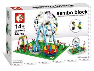เลโก้จีน SEMBO รหัส SD6701 ชุด Ferris Wheel