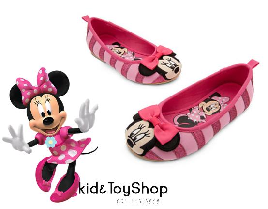 รองเท้าเด็กลายminnie [Disney USA]