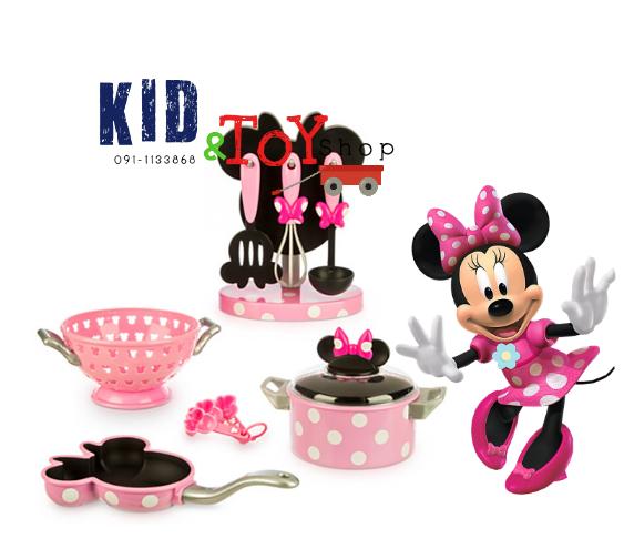 ชุดครัวMinnie Mouse Gourmet Cooking Set