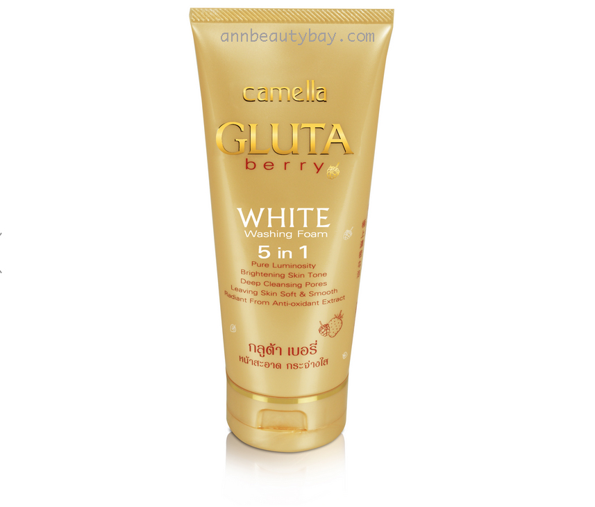 Camella Gluta Berry White Washing Foam