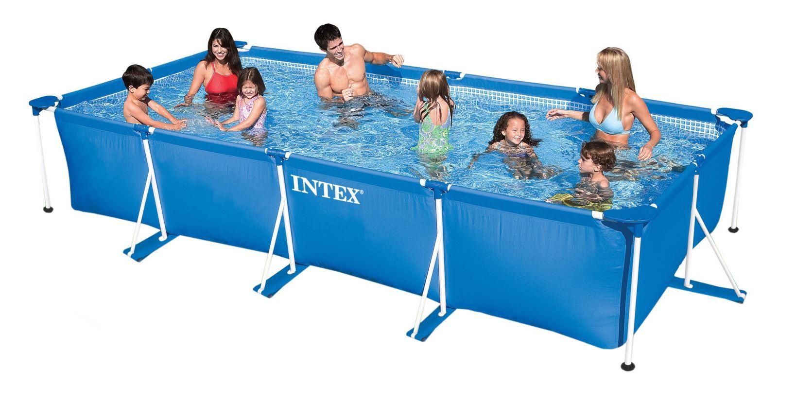 สระว่ายน้ำสำเร็จรูป Size 15 ฟุต