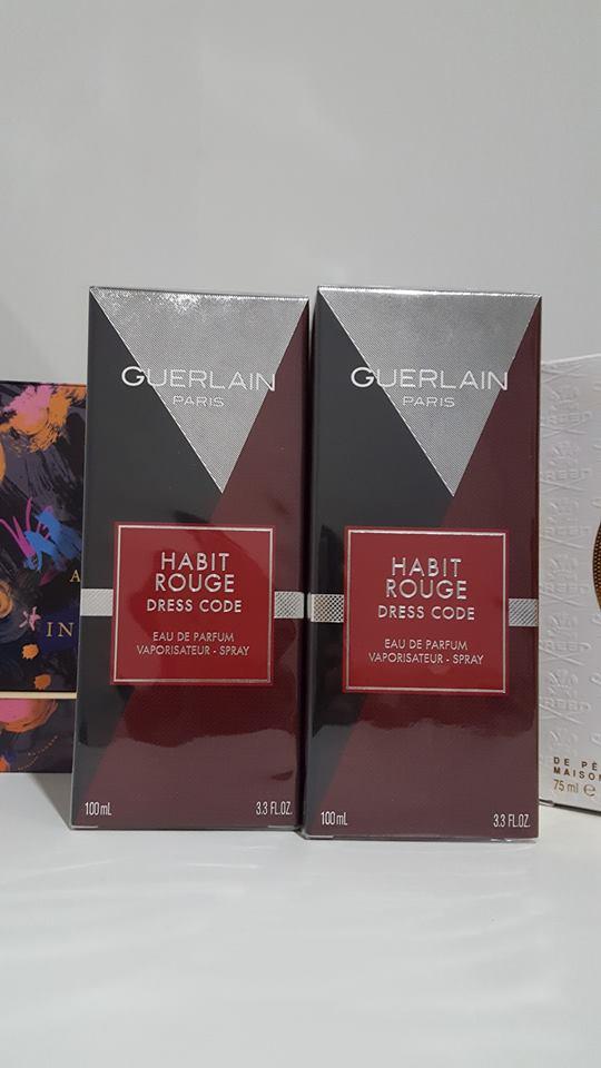 น้ำหอม Guerlain Habit Rouge Dress Code รุ่น 2017 EDP 100ml. กล่องซีล ตามรูปภาพ