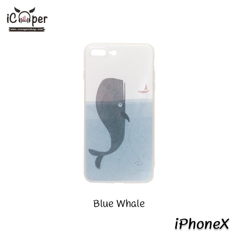 MAOXIN Island Case - Blue Whale (iPhoneX)