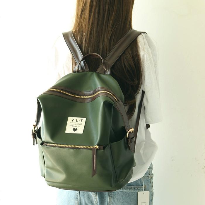 กระเป๋าเป้หนัง PU (มีให้เลือก 4 สี)