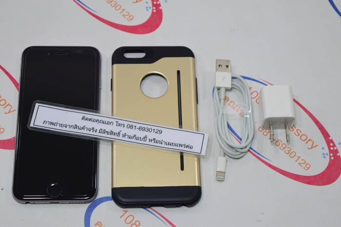 (Sold out)ขาย iPhone 6 16 GB ศูนย์ไทย TH แท้ เครื่องสวยเว่อร์ ไม่มีตำหนิเลย พร้อมอุปกรณ์แท้