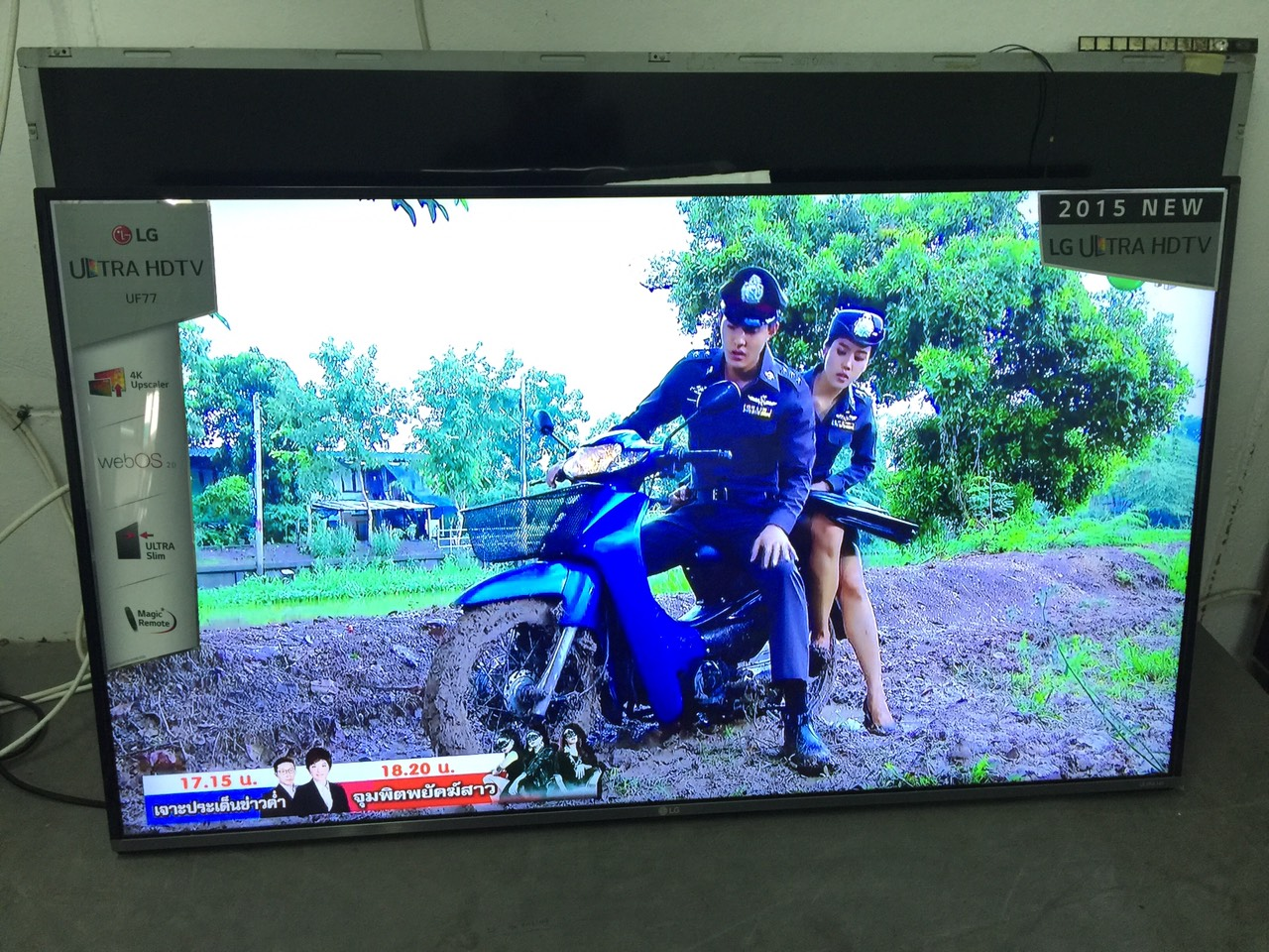 TV LG LED 4K ขนาด49นิ้ว รุ่น49UF770T