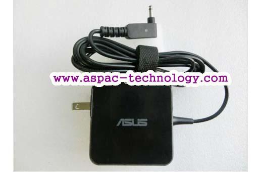 ASUS Original Adapter อแด๊ปเตอร์ของแท้ 19V 2.37A 45W หัว 3.0x1.1MM (แบบใหม่)